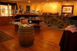 Rappahannock cellars tasting rm