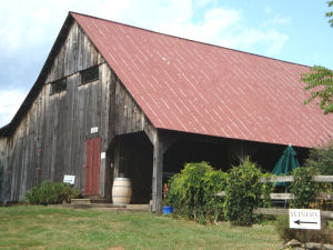 Sharp Rock Vineyard Barn