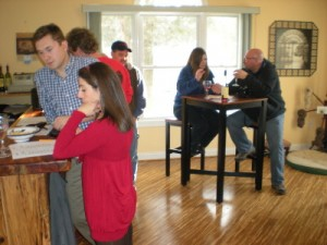 Tasting Room at Wisteria Farm & Vineyard