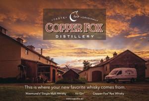 copper fox whiskey
