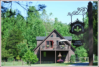Select your lodging on the blue ridge whiskey wine loop for Shenandoah valley romantic cabins