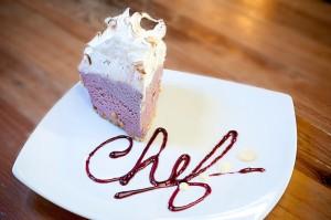 Blackberry Ice Cream Pie