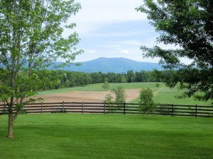 The view you will discover at Piney Hill B & B in Luray, VA