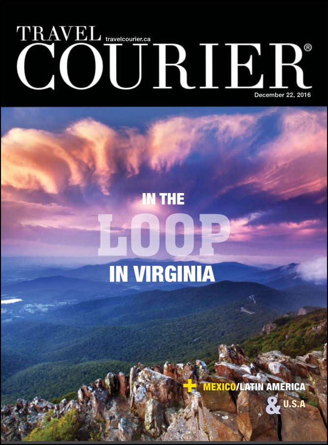 Travel Courier December Cover In the Loop