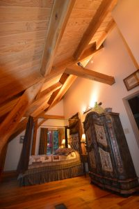 Experience a Timber Frame Cabin!