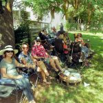 Enjoying Wisteria Farm and Vineyard
