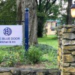 Blue Door Kitchen Sign